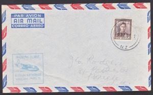 NEW ZEALAND 1951 First flight cover Auckland - New Caledonia...............67461
