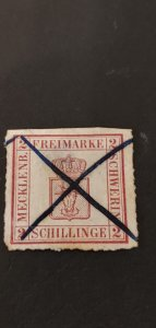 Germany Mecklenburg #6a Used
