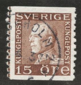 SWEDEN Scott 169 Used