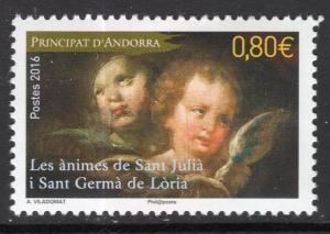 Andorra French 768 MNH VF