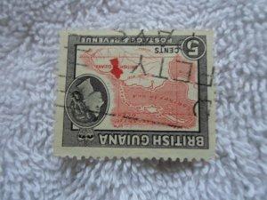 british guiana stamp no hinge marks # 3