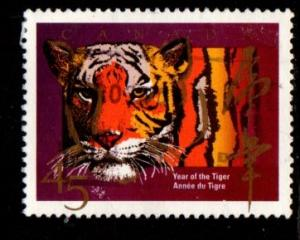 Canada - #1708 Year of the Tiger - Used