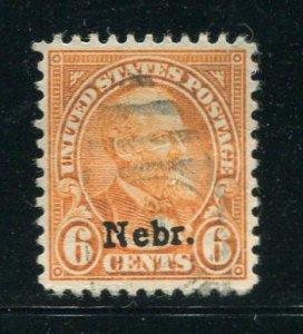 United States #675 Used (L)