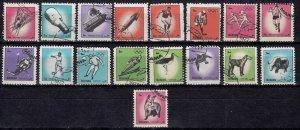 Bahrain, Manama, 1972,MNH, Birds, Sports & Other, no gum