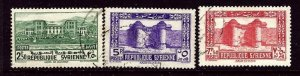 Syria 278-80 Used 1940 issues    (ap3352)