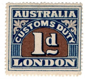 (I.B) Australia Revenue : Customs Duty 1d