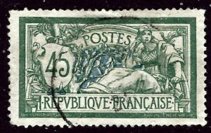 France 122 Used 1906 issue  short perf    (ap3364)
