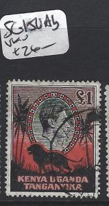 KENYA, UGANDA, TANGANYIKA (P0205B) KGVI  L1  SG 150AB   VFU