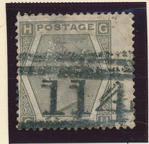 Great Britain Stamp Scott #60, Used, Wing Margin - Free U.S. Shipping, Free W...