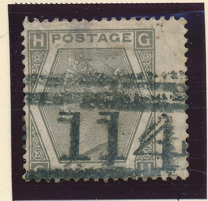 Great Britain Stamp Scott #60, Used, Wing Margin - Free U.S. Shipping, Free W...