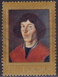 Poland 1957 USED 1973 Nicolaus Copernicus