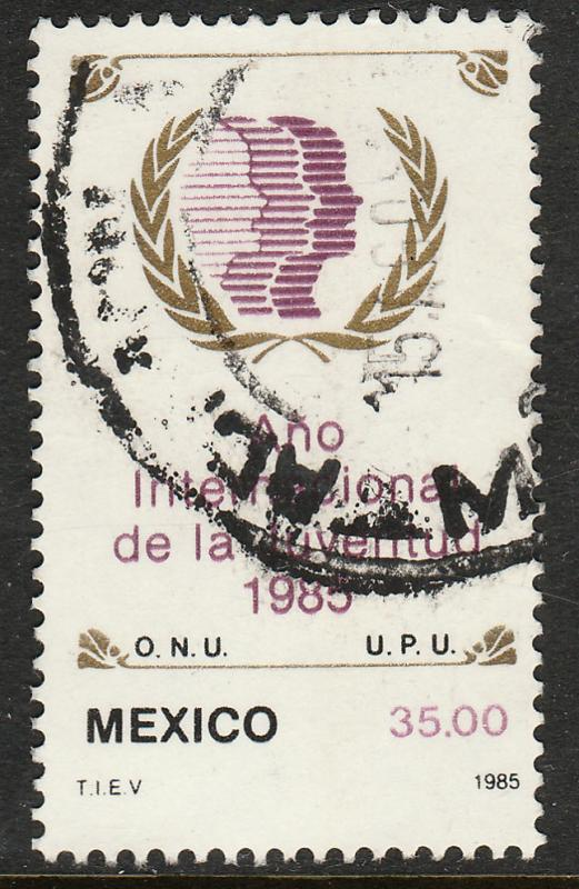 MEXICO 1378, International Youth Year. Used. (1037)