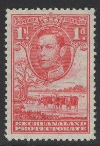 BECHUANALAND SG119 1938 1d SCARLET MTD MINT