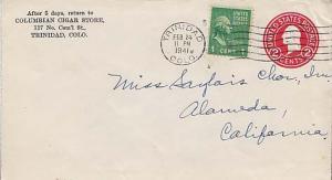 United States, Postal Stationery, Prexies, Colorado