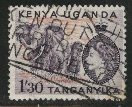 Kenya Uganda and Tanganyika KUT Scott 113 used
