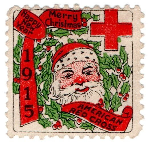(I.B) US Cinderella : Red Cross Christmas Seal (1915)