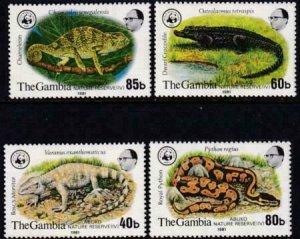 Gambia 1981 SC 432-435 NH Set