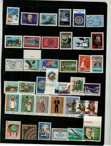 Finland Scott 476 // 584 Mint NH sets (Catalog Value $52.10)