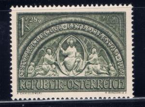 Austria B279 NH 1952 Issue