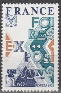 France #1504 MNH F-VF (SU6767)