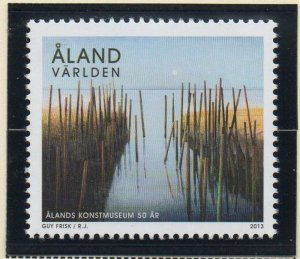 Aland Finland Sc 338 2013 Painting Art Museum stamp mint NH