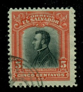 El Salvador 1912 #404 U SCV (2020) = $0.25