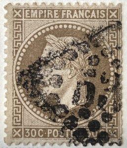 AlexStamps FRANCE #34 FVF Used