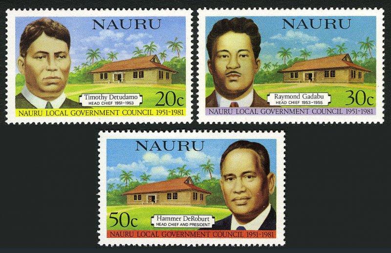 Nauru MNH 224-6 Legislative Council 1981