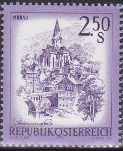 AUSTRIA SC #962 Stamp 1974 Murau, Styria. 2.50s MNH OG