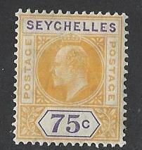 Seychelles  mh S.C.#  60