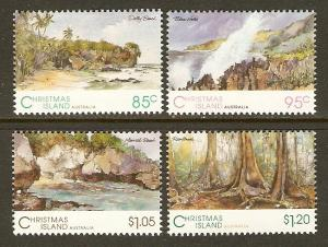 Christmas Island #350-3 NH Scenic Views