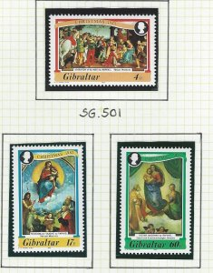 Gibraltar    mnh  sc  456-458