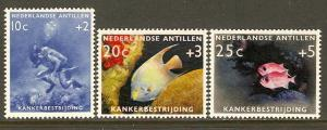 Netherlands Antilles #B48-50 NH Fish