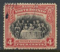 North Borneo  SG 164 SC# 140 Used   perf 13½ x 14 see scan & details