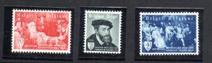 Belgium #485-7 Mint