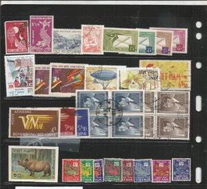 VIETNAM COLLECTION ON STOCK SHEET, MINT/USED