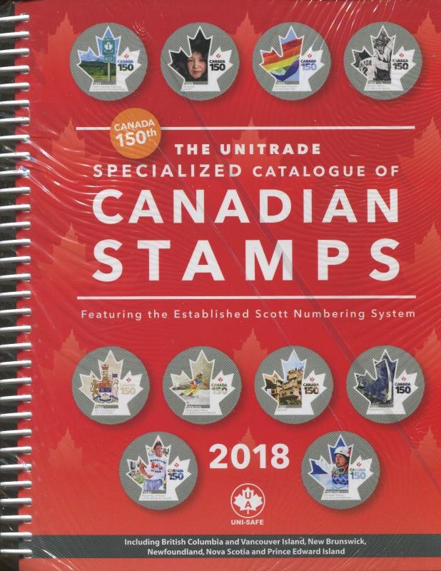 NEW 2018 Canada Unitrade Specialized Postage Stamp Catalogue