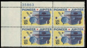 1556 MNH Plate Block