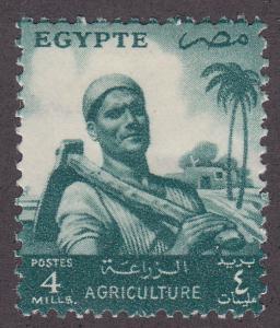 Egypt 371 Farmer 1955