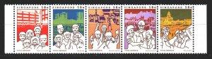 Singapore. 1984. 454-58. Total Defense Mobilization. MNH.
