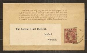 Natal 1901 0.5d Newspaper Wrapper