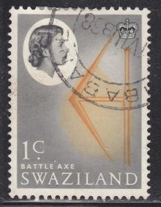 Swaziland 93 Used 1962 Battle Axe