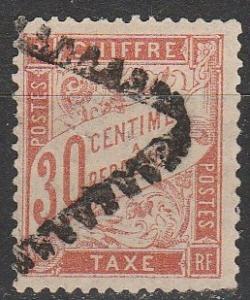 France #J35  F-VF Used  CV $85.00 (K69)