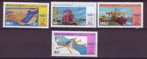 J20817 Jlstamps 1992 uae set mnh #389-92 seaport