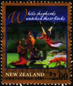 New Zealand. 2001 $2 S.G.2444 Fine Used