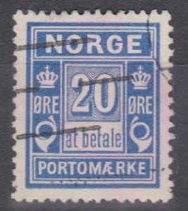Norway #J5 F-VF Used (B6777)
