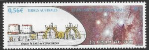 FRENCH SOUTHERN & ANTARCTIC TERRITORIES SG638 2011 CONCORDIA BASE  MNH
