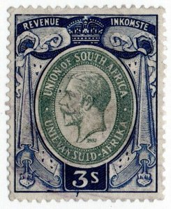 (I.B) South Africa Revenue : Duty Stamp 3/-