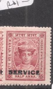 India Indore SG S2 MNH (5dlp)