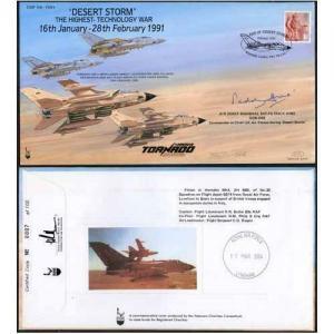 COF54 Desert Storm the Highest Tech War Signed Craig Of Radley 100 Produced (I)
